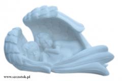 01 Rzezba aniolkow z bialego marmuru Thassos