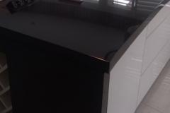 23 Blaty kamienne bialo - czarne do kuchni - wyspa, Pszczyna