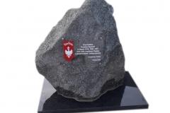 08 Pomnik w formie skaly - upamietniajacy Powsatncow Slaskich, Piasek