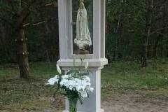 15 Kapliczka z piaskowca pod figurke Maryi, woj. zachodnio- pomorskie