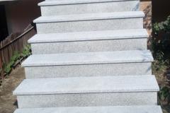 37 Schody jasne granitowe zewnetrzne, Pszczyna