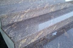 43 Schody z granitu zewnetrzne, Tychy