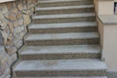 45 Schody zewnętrzne granitowe - jasne, Mikolow