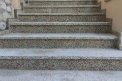 46 Schody zewnętrzne granitowe - jasne, Mikolow
