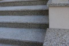 47 Schody zewnętrzne granitowe - jasne, Mikolow