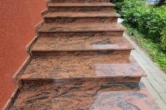 51 Schody zewnetrzne granitowe, Kobior