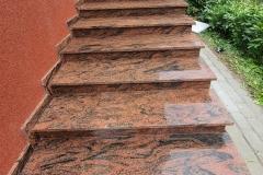 52 Schody zewnetrzne granitowe, Kobior