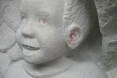 103 Modelowanie twarzy chlopca - etap 4