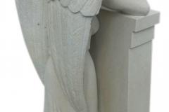 46 Gotowa rzezba aniola - skrzydla