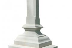 35 Krzyz, tablica nagrobna z piaskowca, Pszczyna