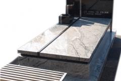 53 Pomnik granitowy na grobowcu, Libiaz
