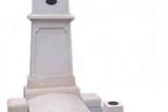 56 Pomnik pojedynczy z piaskowca na grobowcu, Bielsko biala