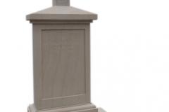 71 Pomnik z piaskowca na grobowcu , Jasło woj.podkarpackie