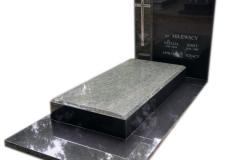 85 Pomnik granitowy na piwnicy grobowcowej, Pszczyna