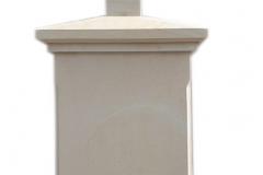 467 Nagrobek nowoczesny z piaskowca w formie kapliczki, Wadowice
