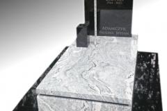 007 Pomnik nowoczesny granitowy, slask