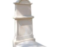 193 Pomnik pojedynczy z piaskowca w formie kapliczki, Kolo woj.wielkopolskie