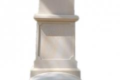 194 Pomnik pojedynczy z piaskowca w formie kapliczki, Kolo woj.wielkopolskie
