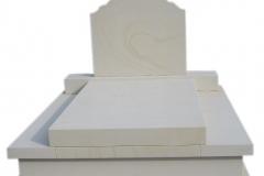 072 Pomnik, grobowiec z piaskowca, Kamieniec k.Gliwic