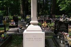 078 tablica nagrobna z krzyzem z piaskowca, Pszczyna