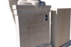 174 Rzezba aniola z piaskowca pod nagrobek, Solec kujawsko-pomorski