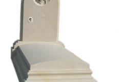 008 Pomnik z piaskowca z Maryja - nagrobki z rzezba, Sosnowiec