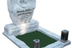 012 Pomnik z marmuru - nagrobki nowoczesne z rzezba, Niemcy