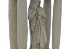 035 Rzezba Maryji z piaskowca, Chorzow