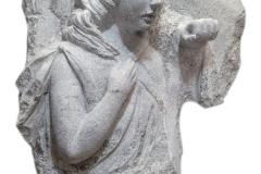 227 Rzezba granitowa aniola na nagrobek,rzezbiarz Janusz Moroń, Tulec woj.wielkopolskie