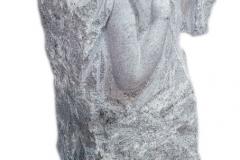 229 Rzezba granitowa aniola na nagrobek,rzezbiarz Janusz Moroń, Tulec woj.wielkopolskie