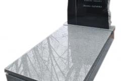045 Pomnik granitowy ze szklanym krzyzem, Szczecin