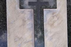 28 Pomnik i krzyż po odnowie - renowacji , Chorzow