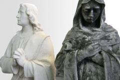 Renowacja postaci swietych