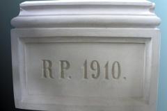 tablica po renowacji 1910
