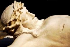 twarz Jezusa po renowacji