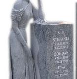 18 Rzeźba kobiety z jasnego granitu, Gubin