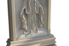 003-rzezba-z-piaskowca-plaskorzezba-maryi-z-symbolami-sosnowiec