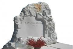 039-rzezba-z-piaskowca-tablica-nagrobna-z-krzyzem-i-jezusem-rydultowy