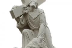 044-rzezba-z-piaskowca-jezus-ukrzyzowany
