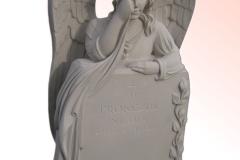 052-rzezba-z-piaskowca-placzacy-aniol, rzezbiarz Janusz Moroń