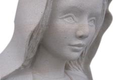 078 Rzezba Maryji z piaskowca